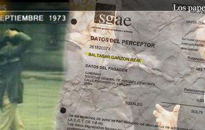Garzón paró la investigación a la SGAE porque era socio y cobraba derechos de autor
