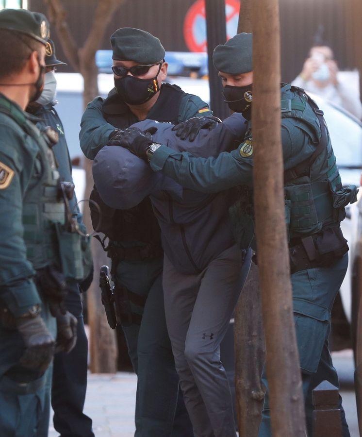 El Melillero y sus cómplices, ante el juez por el ataque con ácido en Cártama (Málaga) 2