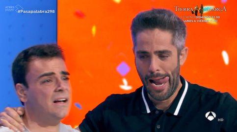 Pablo Díaz y Roberto Leal rompen a llorar tras ganar el bote de 'Pasapalabra'