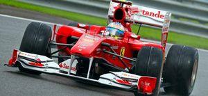 La lluvia le juega una mala pasada a Alonso que saldrá décimo