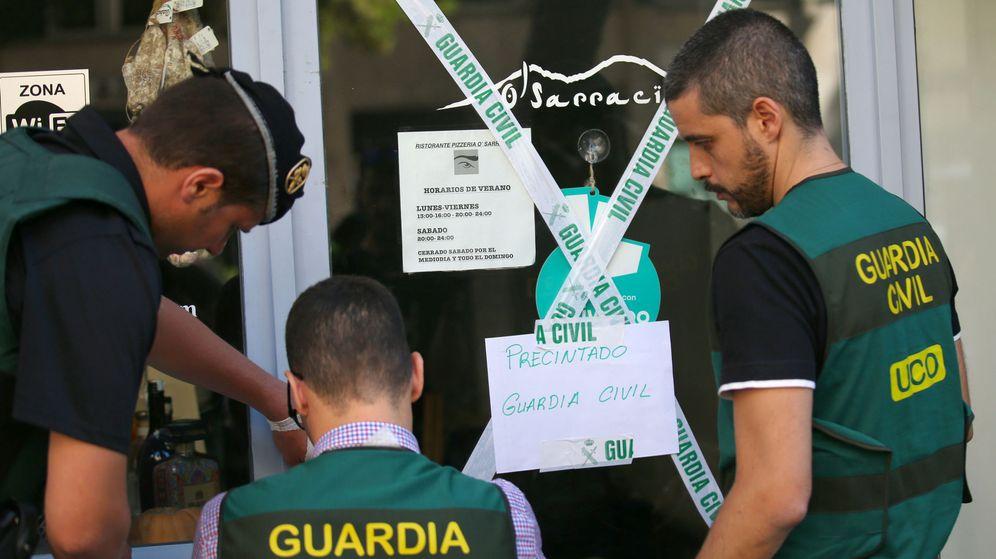 Foto: Imagen de archivo de una operación de la camorra. (Reuters)