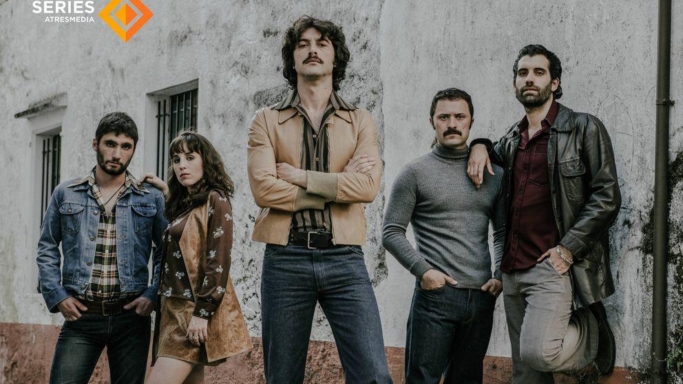 Los narcos de 'Fariña': Javier Rey, Tamar Novas, Fran Lareu, Cristina Iglesias...
