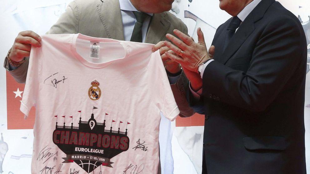 Florentino le dio la clave al juez: dirige  el Madrid desde su despacho en ACS
