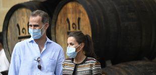 Post de La chaqueta étnica de Uterqüe que Letizia ha recuperado para visitar La Rioja