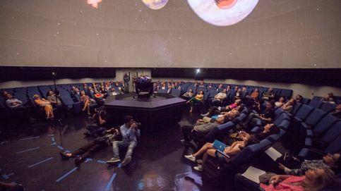 Antes y después de la reforma del Planetario de Madrid