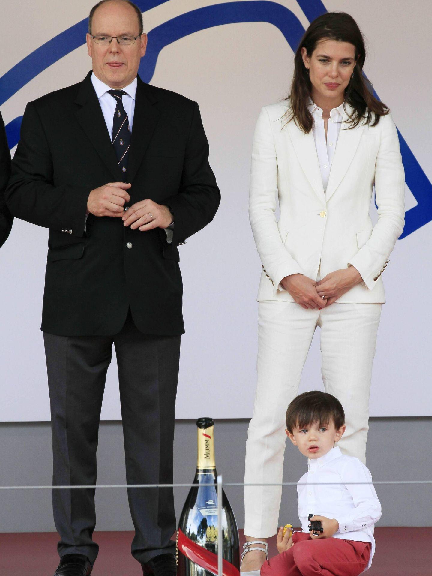 Carlota en el premio de la Fórmula 1 de Mónaco. (Getty)