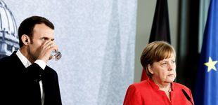 Post de Merkel y Macron escenifican sus diferencias: Berlín rechaza mayor integración económica