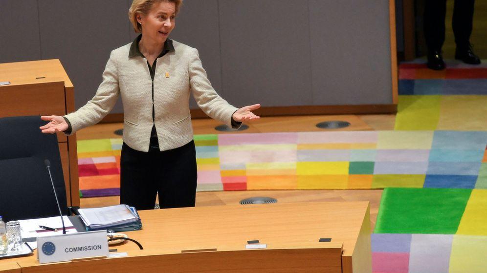 Foto: Ursula von der Leyen, presidenta de la Comisión Europea, durante una cumbre. (Reuters)