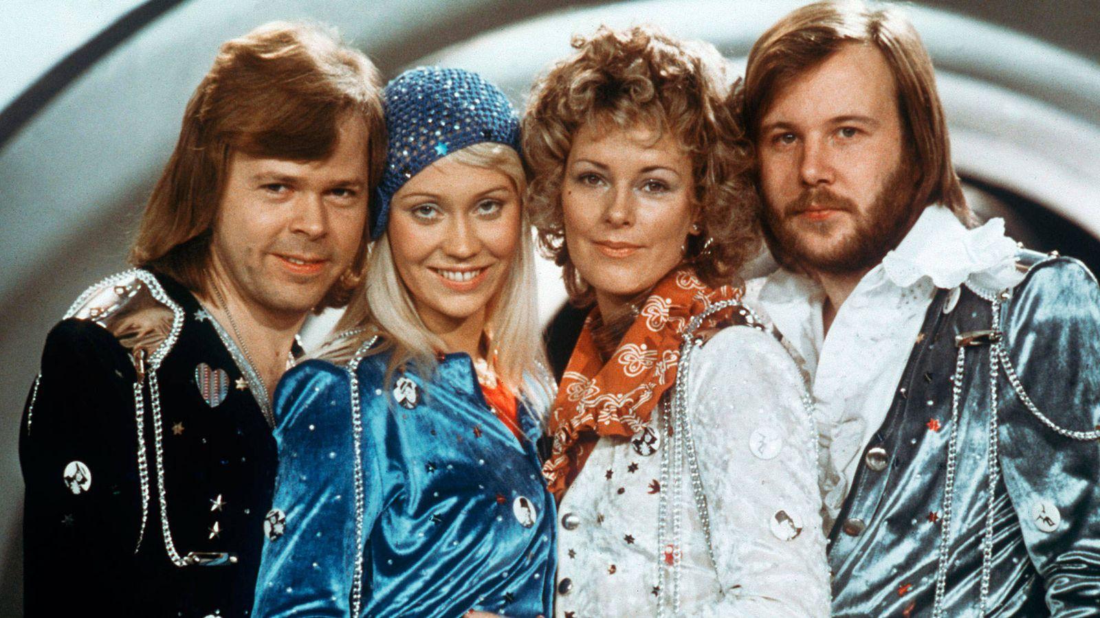 Foto: Los cuatro miembros del grupo en Eurovisión. (Reuters)