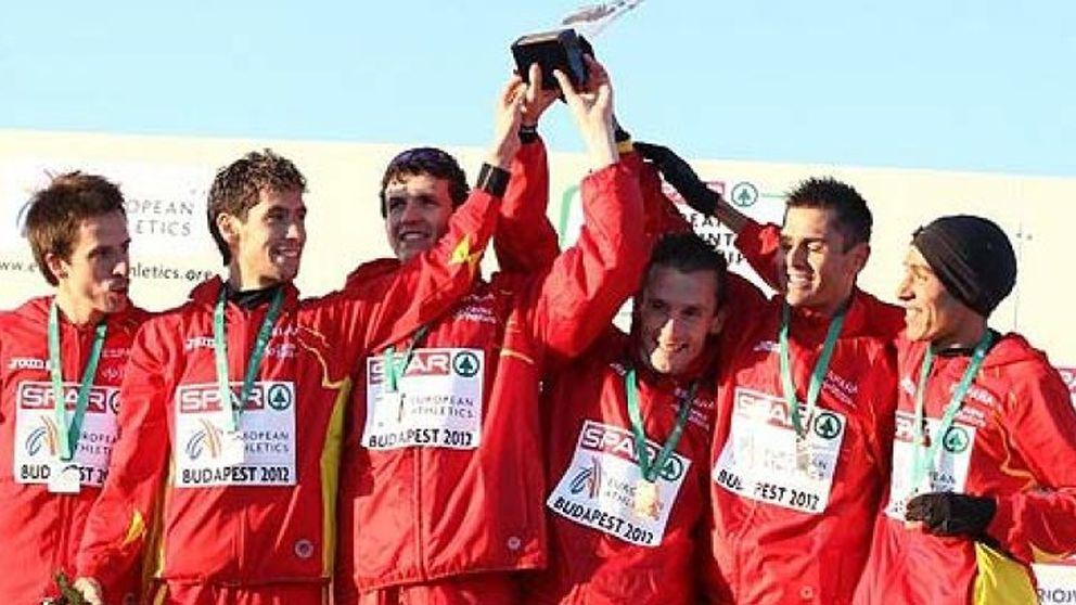 España consigue el oro por equipos en los Europeos de cross por séptima vez