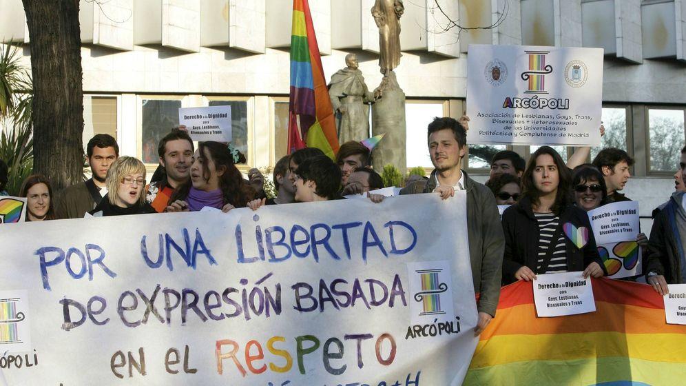 Foto: Protesta de Arcópoli en Madrid (Efe)