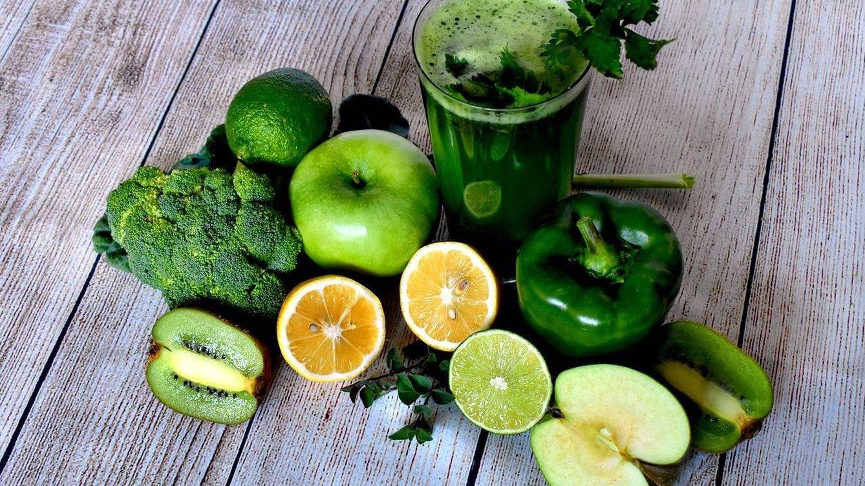 Foto: Alimentos de una dieta detox (Pixabay).