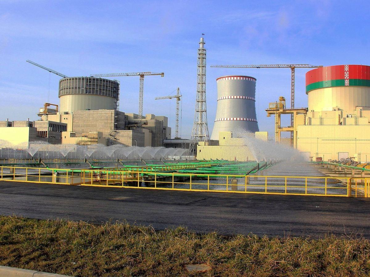 Foto: Planta de energía nuclear. (EFE)